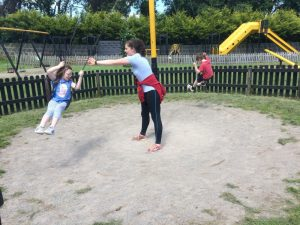 Hurling with Ger/Michael